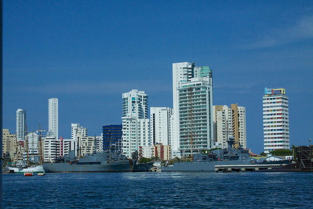 Cartagena waterfront