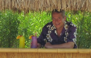 Dave at Tiki Bar