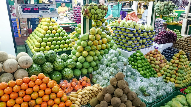 Medellin fruit market