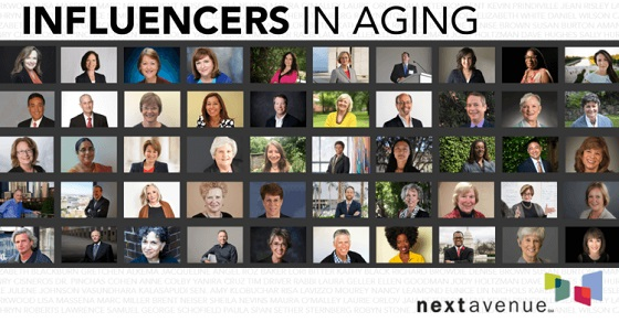 Dave is named one of Next Avenue's 2017 Top 50 Influencers in Aging