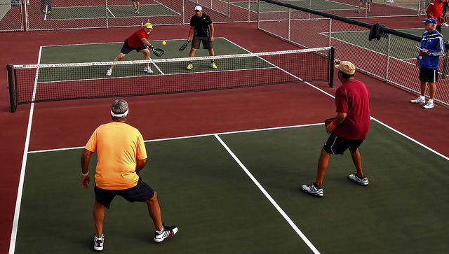 Pickleball has become a popular sport with boomers.